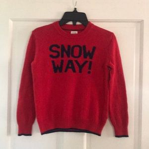 Boys S Gap Intarsia Holiday sweater
